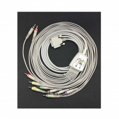Allengers - 10 LEAD ECG CABLE -  4mm Spring Banana Pin