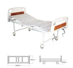 Mechanical Fowler Bed with ABS Panels   (AF-M11)