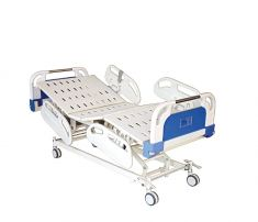 Electric ICU Bed with Heavy ABS Panel and ABS Railing   (Al-E02H)