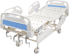 Mechanical ICU Bed with ABS Panel & ABS Railing