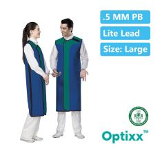 Double Sided Lead apron 0.5_mm Pb Lite lead Large W/G-60 L-100 (Model - Optixx)