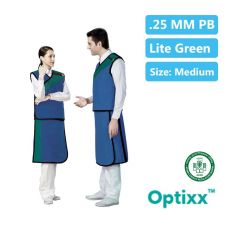 Lead Skirt Apron 0.25mm pb Lite Green medium W/G-183 L-53