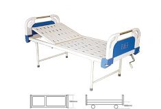 Mechanical Semi Fowler Bed with Heavy ABS Panels