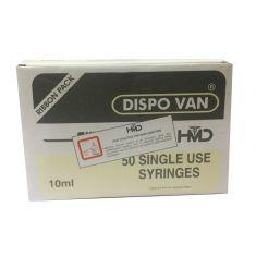 Dispo Van Syringe with Needle - 10ml