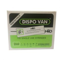 Dispo Van Syringe with Needle - 2ml