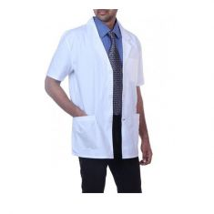 Doctor Coat Short/Half Sleeves (Color White)
