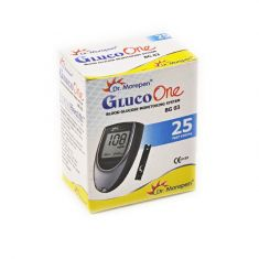 Dr.Morepen Gluco One - Blood Glucose 25 Test Strips (BG03)