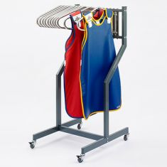 OTBliss Mobile Rack Storage S.S Hangers