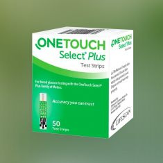 OneTouch Select Plus- Pack of 50 Strips