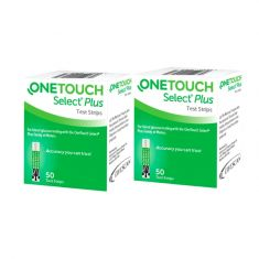 Combo pack of OneTouch Select Plus(50 Strips)