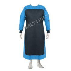 OT Gown - Color Blue & Black