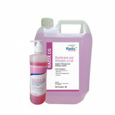 RADIX CG - Hygiene hand Disinfectant and Antiseptic Scrub - 500 ml