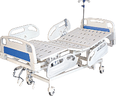 Semi Electric ICU Bed with ABS Panel and ABS Railing