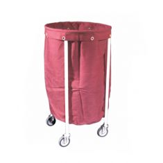 Soiled Linen Trolley with canvas bag