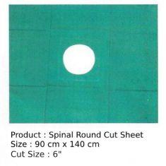 Round Cut (6'') Sheet; Size - 90 x 140