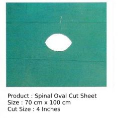 Spinal Oval Cut Sheet