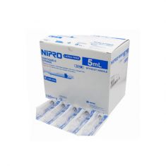 Nipro 5ml syringes without needle