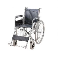 Wheel Chair Folding - Detachable Armrest & Footrest