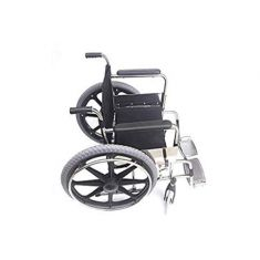 Amerey™ Wheel Chair Folding Chrome Plated