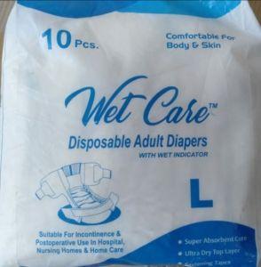 DisposableWet adult diaper