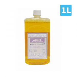 Aceptik Hospital Concentrate | Powerful Germicide Antiseptic Liquid (1 Liter)