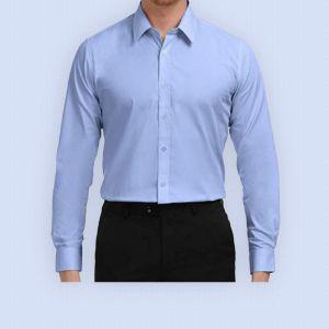 Male Staff Dress - Sky Blue shirt