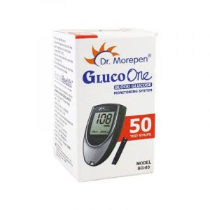 Dr.Morepen Gluco One - Blood Glucose 50 Test Strips (BG03)
