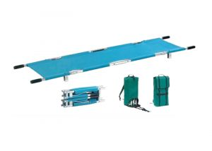 Folding Stretcher 4 Fold (Alum.) (IMPORTED)