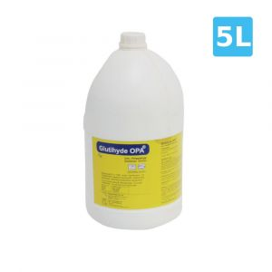 Glutihyde - Ortho-Phthalaldehyde high level Disinfectant solution- 5 Liters