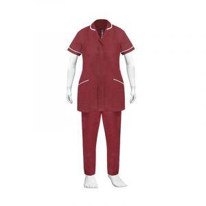 Nurse Uniform (Color Maroon)