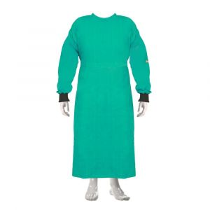 OT Gown Plain (Color Green)