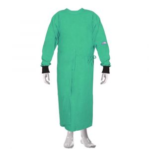 OT Gown with Makintosh - Overlapping (Color Green)