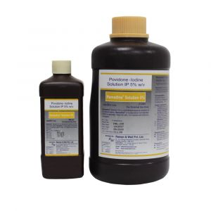 Ramadine 5% for pre and post-operative skin disinfectant