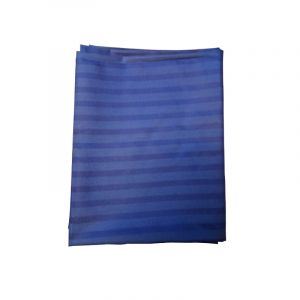 Hospital Bed Sheet - Self Design blue