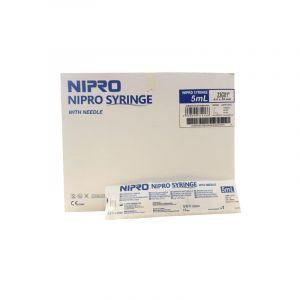 Nipro 5ml syringes without needle