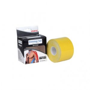 Visiono Waterproof Kinesiology Therapeutic And Sports Tape 5x5 cm